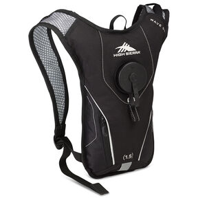 High Sierra Classic 2 Series Wave 50 Hydration Pack in the color Black/Silver.