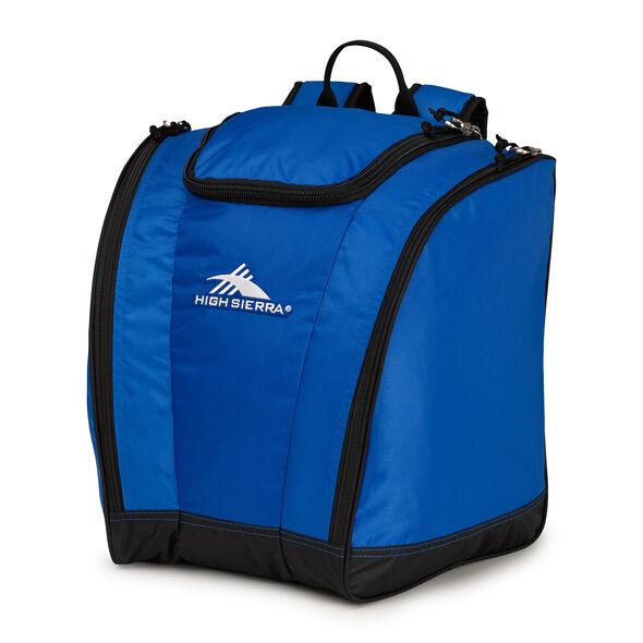 High Sierra Junior Trapezoid Boot Bag in the color Vivid Blue/Black.