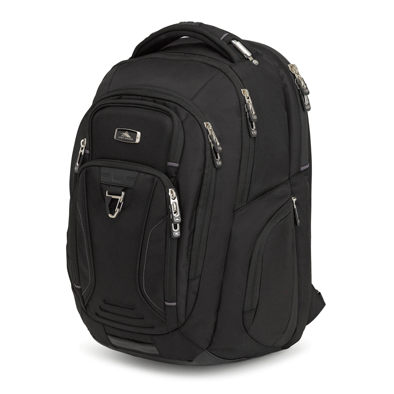 high sierra endeavor elite backpack in the color black