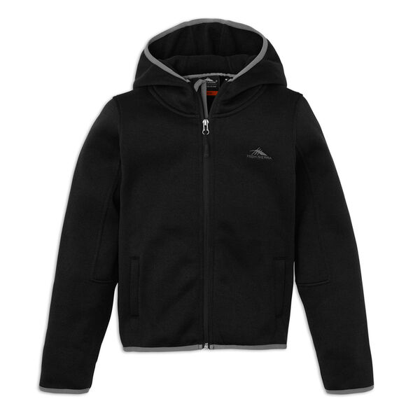 High Sierra Funston Boy's Jacket in the color Black/Charcoal.