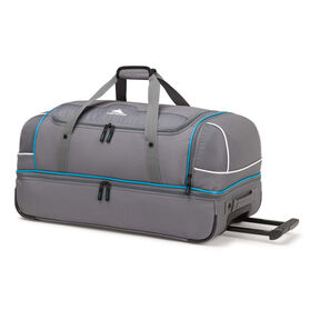 "High Sierra Boxed 28"" Wheeled Duffel in the color Mercury/Charcoal."