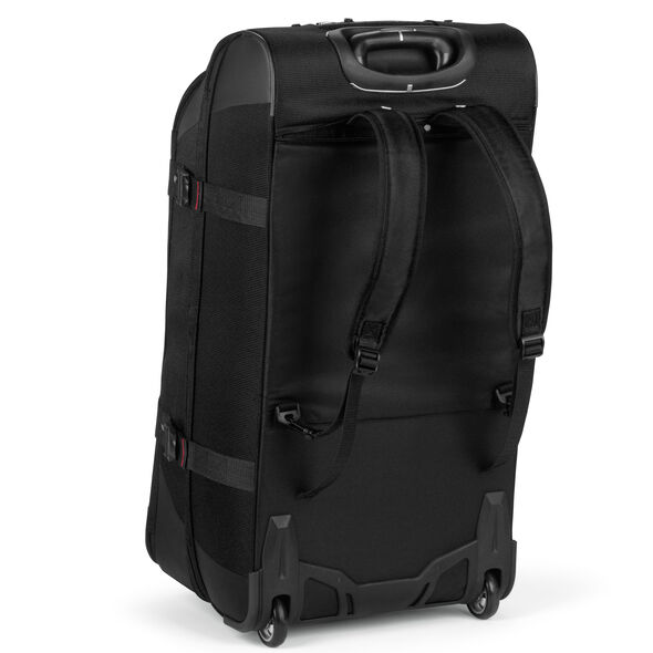 """High Sierra AT7 32"""" Wheeled Duffle in the color Black."""