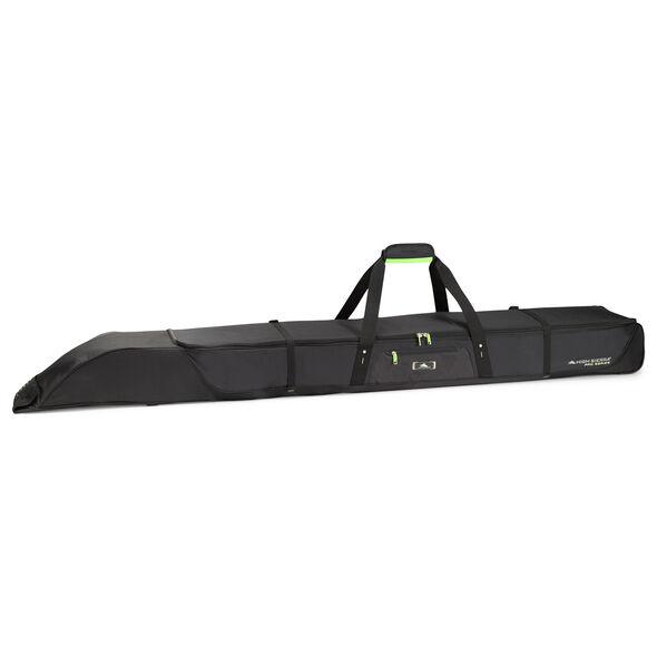 High Sierra Double Adjustable Ski Bag in the color Black/Zest.
