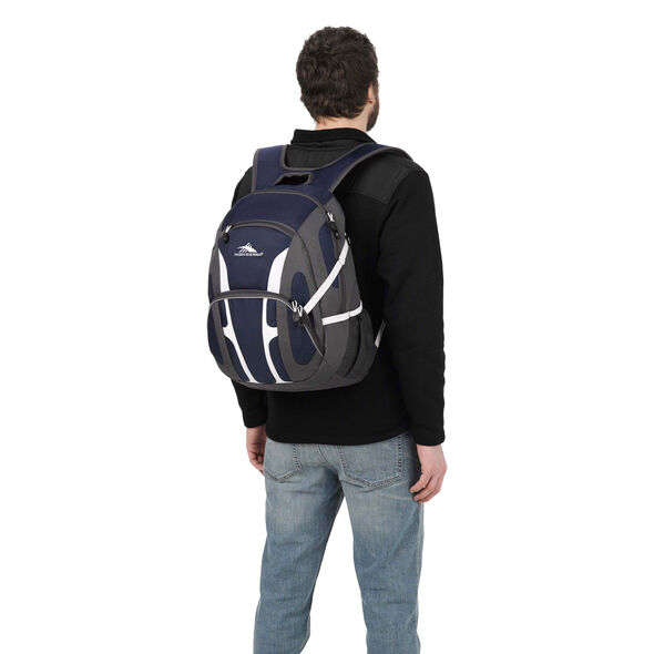 High Sierra Composite Backpack in the color True Navy.