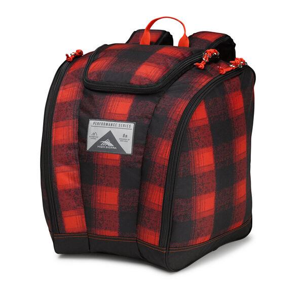 High Sierra Junior Trapezoid Boot Bag in the color Buffalo Plaid.