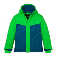 High Sierra Boy's Frankie Insulated Jacket in the color Kelly/Lagoon.