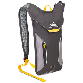 High Sierra Classic 2 Series Wave 70 Hydration Pack in the color Mercury/Ash/Yellow.