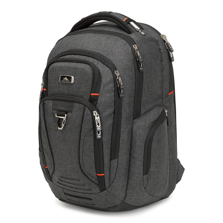 high sierra endeavor elite backpack in the color mercury heather