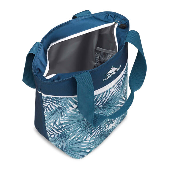 High Sierra Lunch Packs Tote in the color Palms/Lagoon/White.