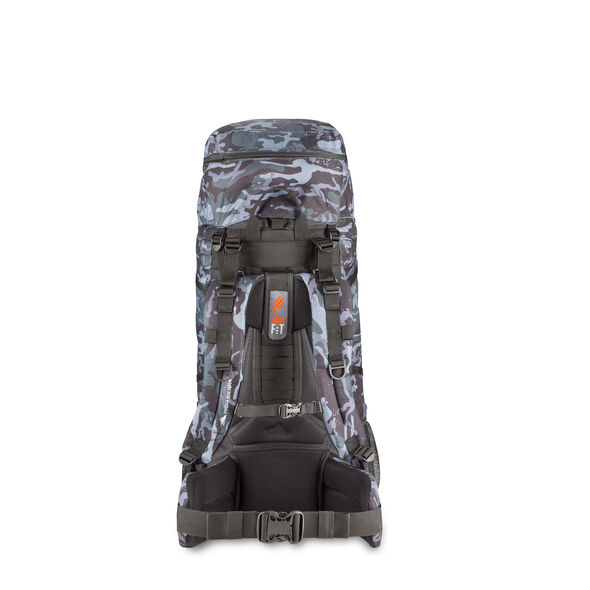 High Sierra Classic 2 Series Explorer 55 Frame Pack in the color Camo/Black.