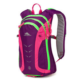 High Sierra Symmetry 12 in the color Eggplant/Fuchsia/Lime.