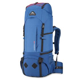 High Sierra Tokopah 55L Pack in the color Pilot/Atlantic/Crimson.