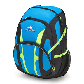 High Sierra Composite Backpack in the color Pool/Black/Zest.