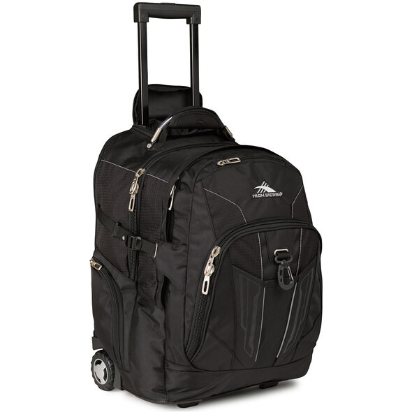 High Sierra XBT Wheeled Daypack in the color Black.