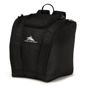 High Sierra Junior Trapezoid Boot Bag in the color Black.