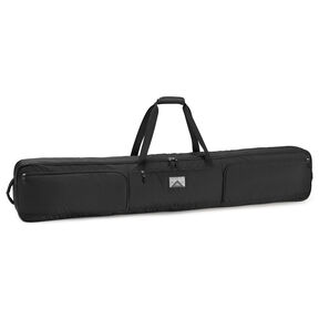 High Sierra Wheeled Double Ski/Snowboard Bag in the color Black.