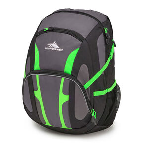High Sierra Composite Backpack in the color Slate/Black/Lime.