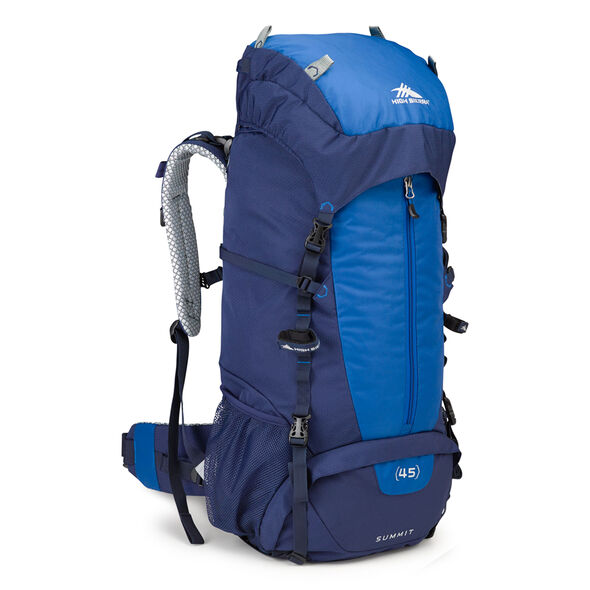 High Sierra Classic 2 Series Summit 45 Frame Pack in the color True Navy/Royal.