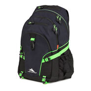 High Sierra Loop Backpack in the color Midnight Blue/Black/Lime.