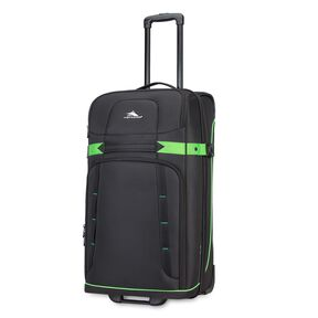 "High Sierra Evanston 29"" Upright in the color Black/Lime Green."