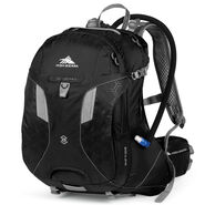 High Sierra Riptide 25L Hydration Pack in the color Black/Silver.