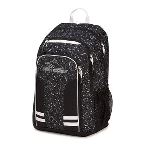 High Sierra Blaise Backpack in the color Speckle/Black/White.
