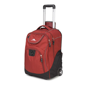 High Sierra Powerglide Wheeled Backpack in the color Brick.