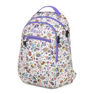 High Sierra Curve Backpack in the color Sweet Cakes/ Lavender.