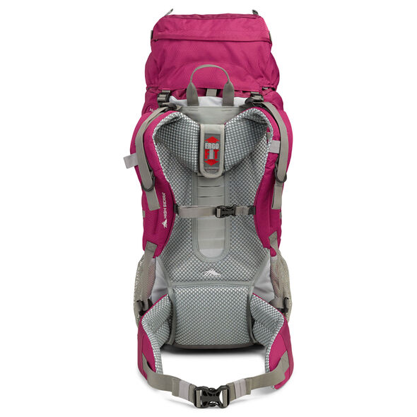 High Sierra Classic 2 Series Explorer 50W Frame Pack in the color Boysenberry/Ash.