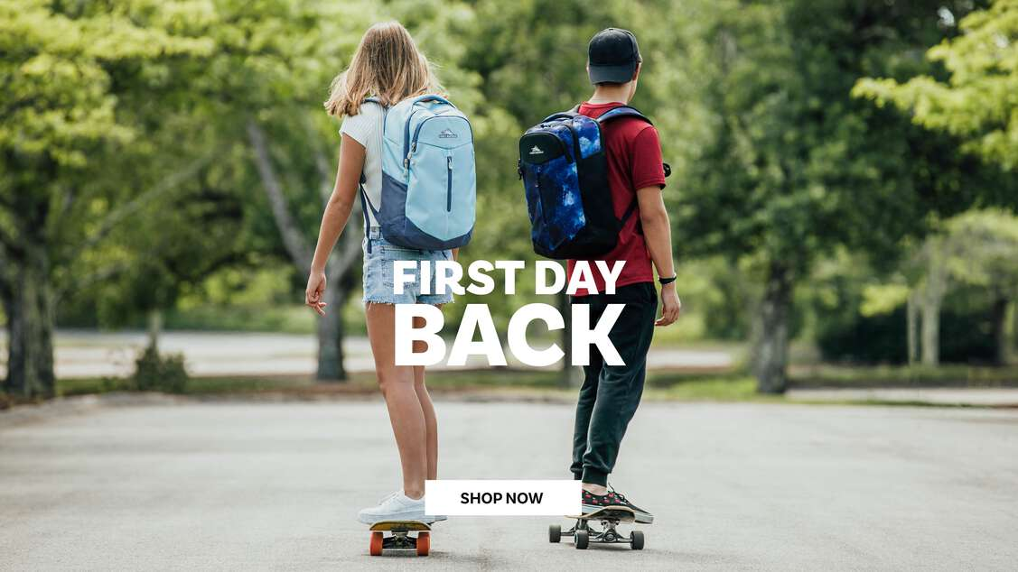 First Day Back Packs. Shop Back to School today. Click here.
