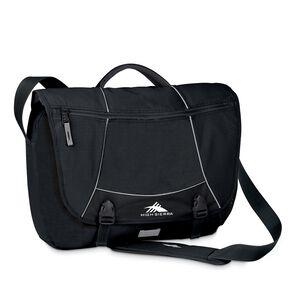 High Sierra Totes & Messengers Tank Messenger Bag in the color Black.