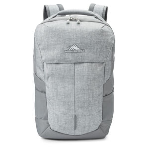 High Sierra Access Pro Backpack in the color Silver Heather/Steel Grey.