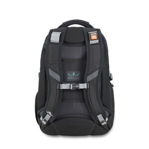 Vuna TSA Business Backpack in the color Black/Charcoal.
