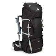 High Sierra Classic 2 Series Explorer 55 Frame Pack in the color Black/Silver.