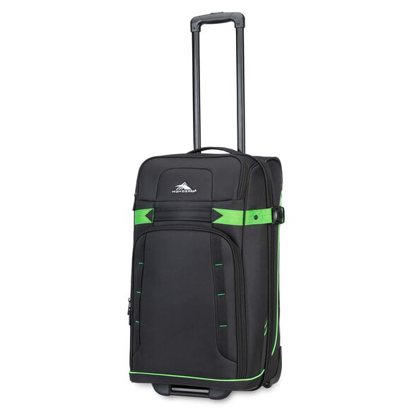 "High Sierra Evanston 25"" Upright in the color Black/Lime Green."