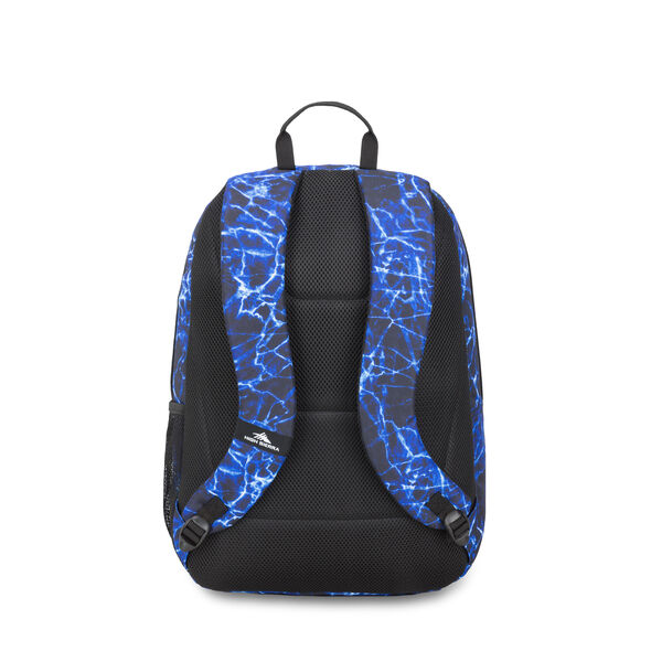 High Sierra Sumner Backpack in the color Blue Fireball/Black.