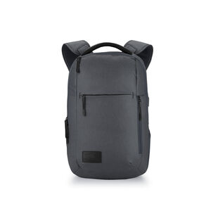 Business ProSlim USB Backpack in the color Mercury Heather/Black.
