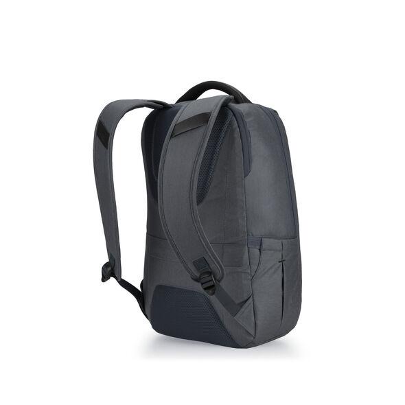 High Sierra Business Slim Backpack in the color Mercury Heather/Black.