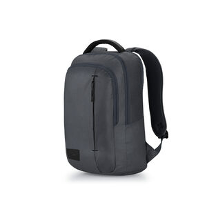 Business Slim Backpack in the color Mercury Heather/Black.