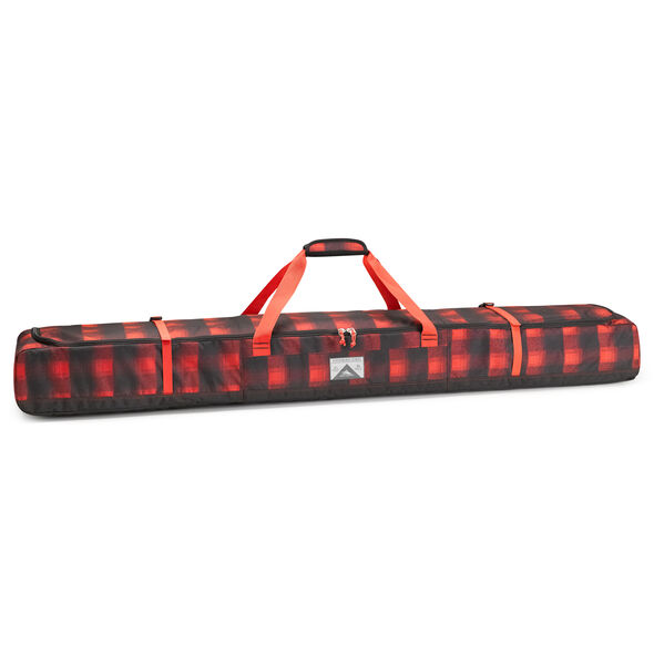 High Sierra Deluxe Double Ski Bag in the color Buffalo Plaid.