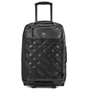 "OTC 22"" Hybrid Wheeled Backpack in the color Black/Black/Black."
