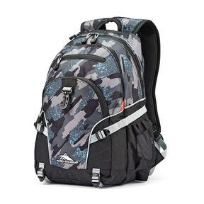High Sierra Loop Backpack in the color Graffiti/Black/Ash.