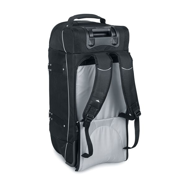 "High Sierra AT2 30"" Wheeled Duffel With Straps in the color Black."