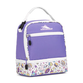 High Sierra Stacked Compartment in the color Sweet Cakes/ Lavender/White.