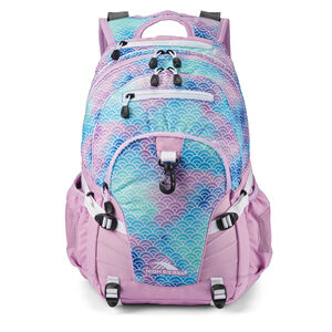 High Sierra Loop Backpack in the color Rainbow Scales.