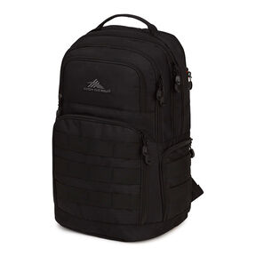 High Sierra Rownan Backpack in the color Black.