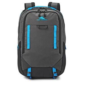 Litmus Backpack in the color Mercury/Black/Pool.