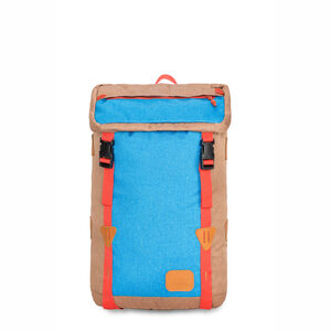 HS78 Klettersack Backpack in the color Coconut/Sky/Red Rock.