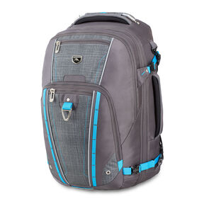 High Sierra Vuna Travel Pack in the color Mercury/Burlap/Pool.