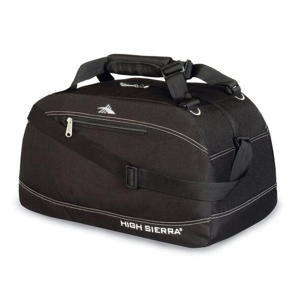 """High Sierra 24"""" Pack-N-Go Duffel in the color Black."""